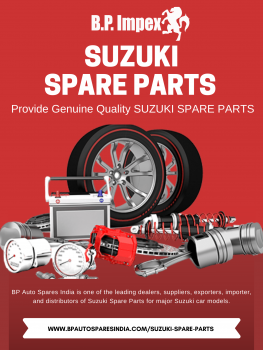 Genuine Quality SUZUKI SPARE PARTS .png