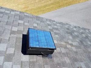 Attic Fan - Cool Attic Down - Sarasota Attic Company - Tampa Insulation Company - Tampa Attic Solar Fan.jpg